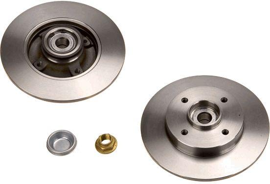 Origine Disque TRW DF4452BS (Ø: 249mm, Nbre de trous: 4, Épaisseur du disque de frein: 9mm)