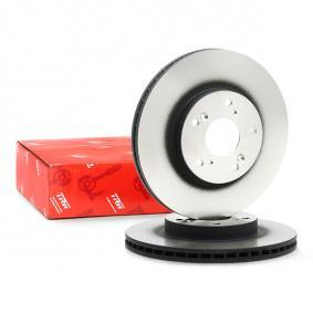 DF4486 TRW Vented, Painted Ø: 282mm, Num. of holes: 5, Brake Disc Thickness: 23mm Brake Disc DF4486 cheap