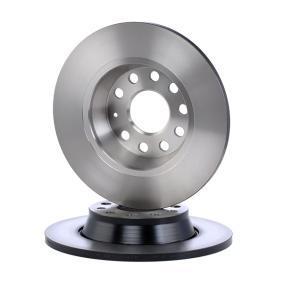 DF4558 TRW Cheio, pintado Ø: 282mm, N.º de furos: 9, Espessura do disco de travão: 12mm Disco de travão DF4558 comprar económica