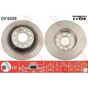 DF4558 Disco de travão TRW DF4558 Enorme selecção - fortemente reduzidos