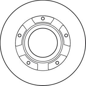DF4821S Bremsscheiben TRW in Original Qualität
