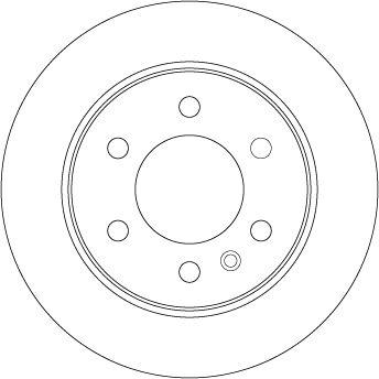 DF4823S Disque de frein TRW Test