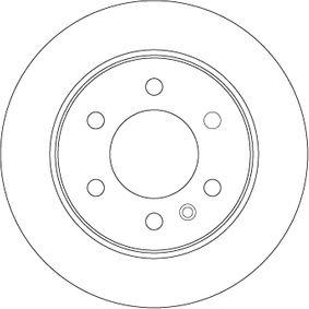 DF4823S Bremsscheibe TRW in Original Qualität