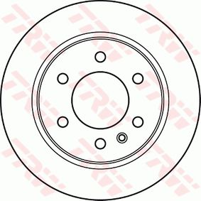 DF4823S Brake Disc TRW original quality