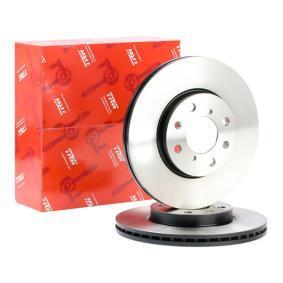 DF4824 TRW belüftet, lackiert Ø: 252mm, Lochanzahl: 4, Bremsscheibendicke: 20mm Bremsscheibe DF4824 günstig kaufen