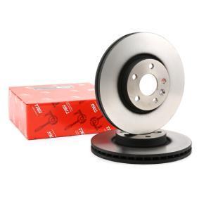DF4850S TRW ventilado, pintado, alto carbono Ø: 300mm, N.º de furos: 5, Espessura do disco de travão: 28mm Disco de travão DF4850S comprar económica