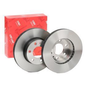 DF4987S TRW ventilerad, lackerad Ø: 300mm, Hålant.: 6, Bromsskivetjocklek: 28mm Bromsskiva DF4987S köp lågt pris
