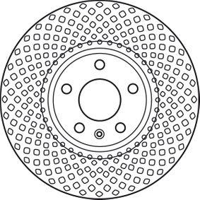 DF6015S TRW ventilado, barnizado Ø: 320mm, Núm. orificios: 5, Espesor disco freno: 30mm Disco de freno DF6015S a buen precio