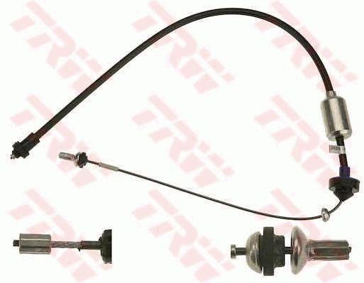 GCC1758 TRW Länge: 992mm Seilzug, Kupplungsbetätigung GCC1758 günstig kaufen