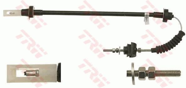 GCC1781 TRW Länge: 607mm Seilzug, Kupplungsbetätigung GCC1781 günstig kaufen