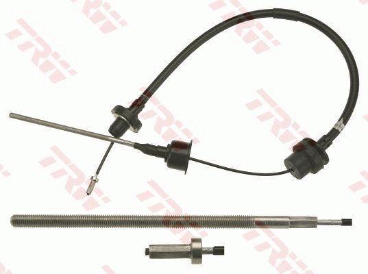 GCC1817 TRW Länge: 925/480mm Seilzug, Kupplungsbetätigung GCC1817 günstig kaufen