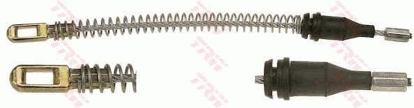 OPEL ASTRA 2016 Handbremse - Original TRW GCH2097 Länge: 180mm