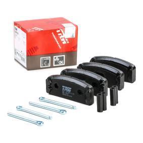 Kit de plaquettes de frein, frein à disque GDB108 RENAULT 8 à prix réduit — achetez maintenant!