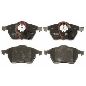 GDB1307 Zestaw klocków hamulcowych, hamulce tarczowe TRW 23018 Ogromny wybór — niewiarygodnie zmniejszona cena