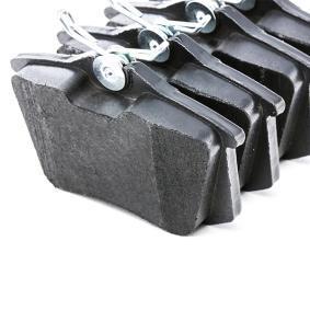 GDB1330 Zestaw klocków hamulcowych, hamulce tarczowe TRW - Tanie towary firmowe