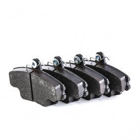 21463 TRW COTEC für Verschleißwarnanzeiger vorbereitet, mit Bremssattelschrauben, mit Zubehör Höhe: 64,8mm, Dicke/Stärke: 18,0mm Bremsbelagsatz, Scheibenbremse GDB1332 günstig kaufen