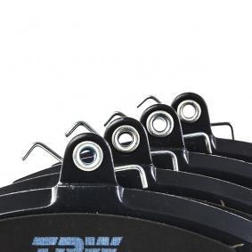 GDB1332 Bremsbelagsatz, Scheibenbremse TRW GDB1332 - Große Auswahl - stark reduziert