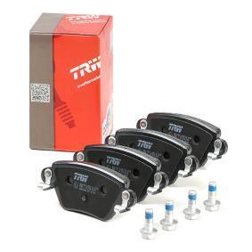 23557 TRW COTEC mit akustischer Verschleißwarnung, mit Bremssattelschrauben, mit Zubehör Höhe: 51,9mm, Dicke/Stärke: 16,8mm Bremsbelagsatz, Scheibenbremse GDB1525 günstig kaufen