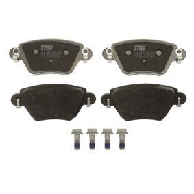 GDB1525 Bremsbelagsatz, Scheibenbremse TRW in Original Qualität