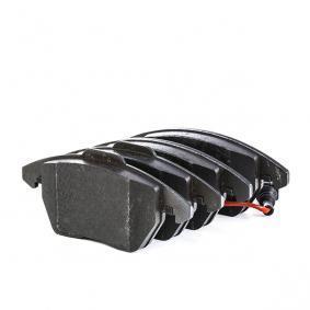Kjøp 23589 TRW COTEC inkl. slitasjevarselkontakt høyde 1: 71,4mm, høyde 2: 66mm, Tykkelse: 20,3mm Bremsekloss sett GDB1550 Ikke kostbar
