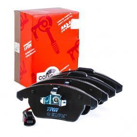 GDB1550 Stabdžių trinkelių rinkinys, diskinis stabdys TRW - Pigus kokybiški produktai