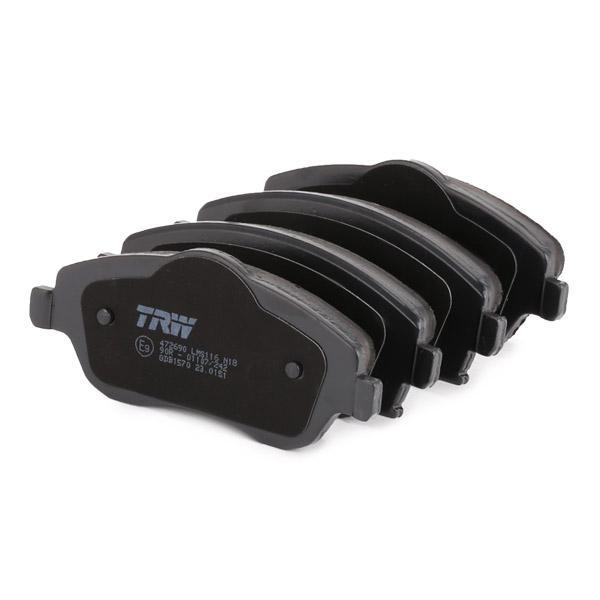 GDB1570 Bremsbeläge TRW 23225 - Große Auswahl - stark reduziert