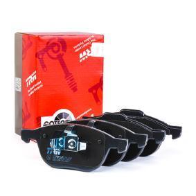23724 TRW COTEC no preparado para indicador de desgaste Altura: 67,2mm, Espesor: 18mm Juego de pastillas de freno GDB1583 a buen precio