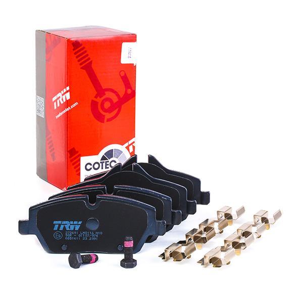 GDB1611 Bremsbeläge TRW 23915 - Große Auswahl - stark reduziert
