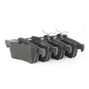 24137 TRW COTEC nicht für Verschleißwarnanzeiger vorbereitet Höhe: 52,0mm, Dicke/Stärke: 16,6mm Bremsbelagsatz, Scheibenbremse GDB1621 günstig kaufen