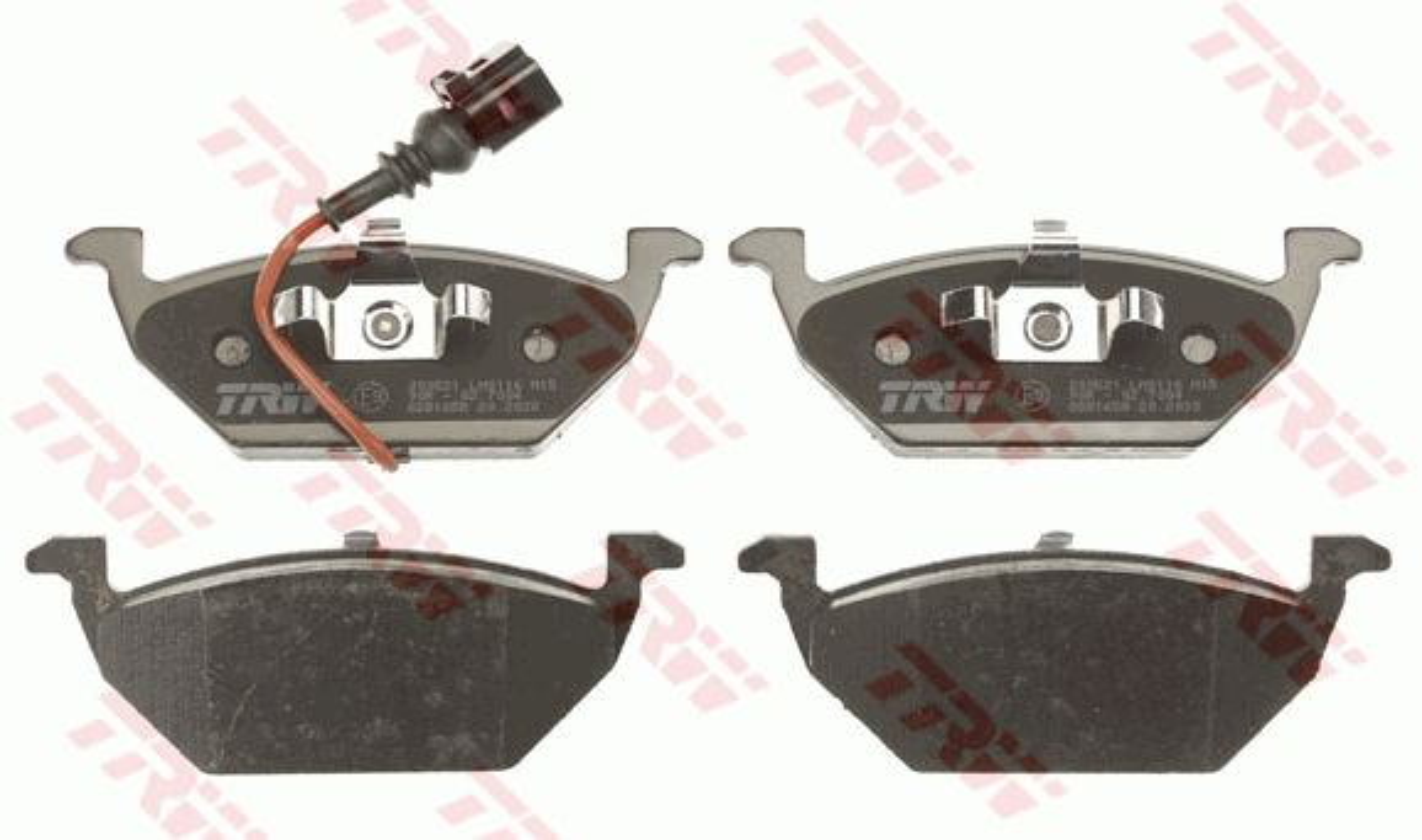 GDB1658 Bremssteine TRW in Original Qualität