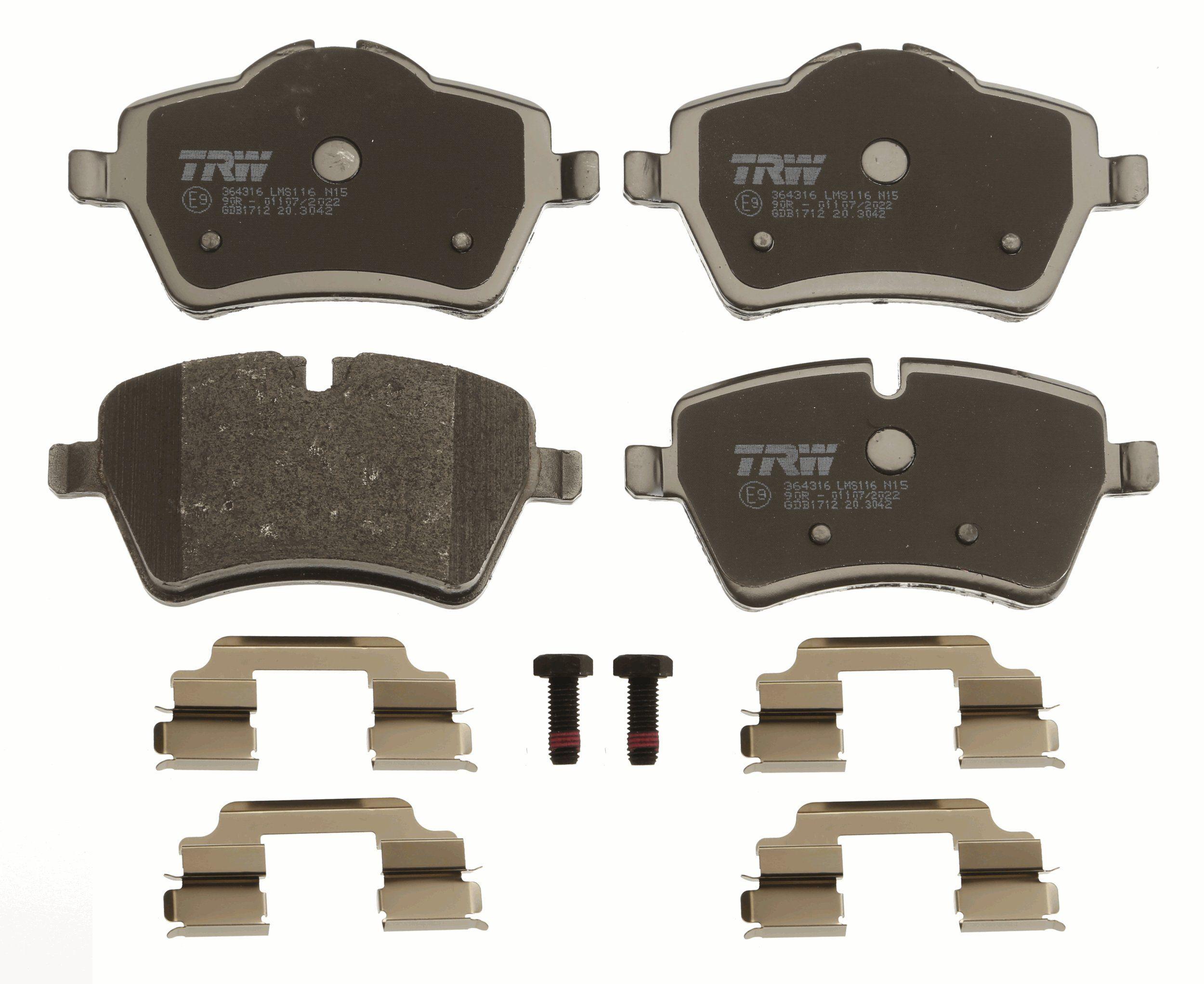 GDB1712 Bremssteine TRW in Original Qualität