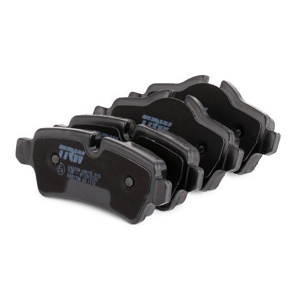 GDB1766 Bremsbeläge TRW 24289 - Große Auswahl - stark reduziert