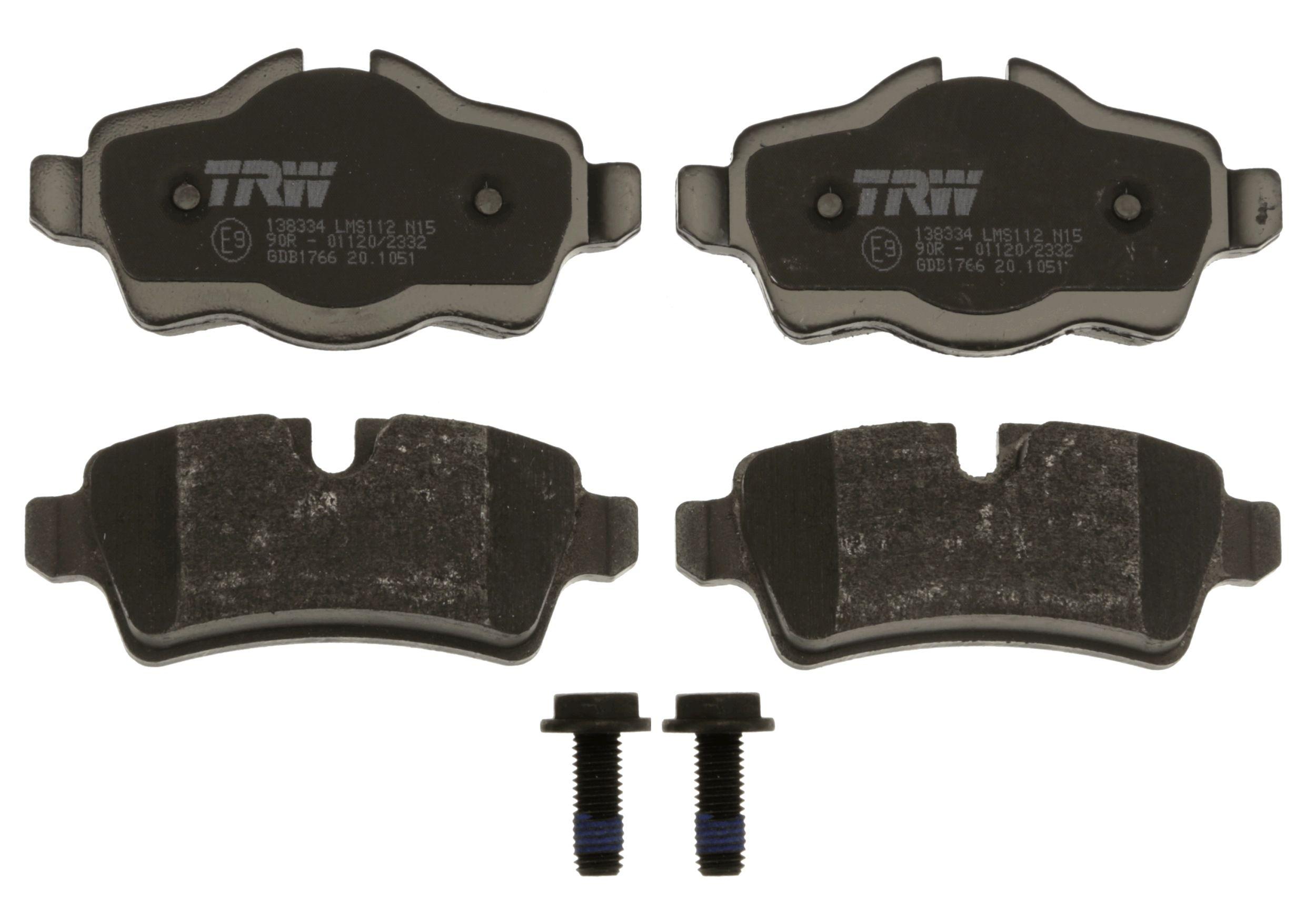 GDB1766 Bremssteine TRW in Original Qualität