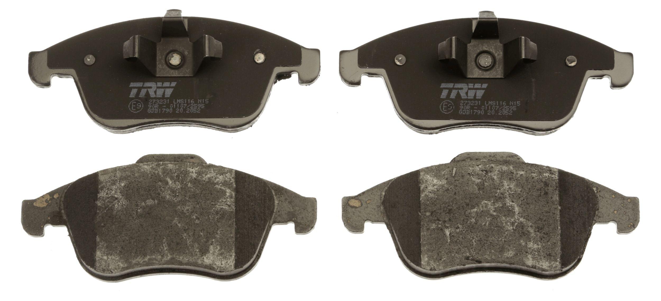 GDB1790 Bremssteine TRW in Original Qualität