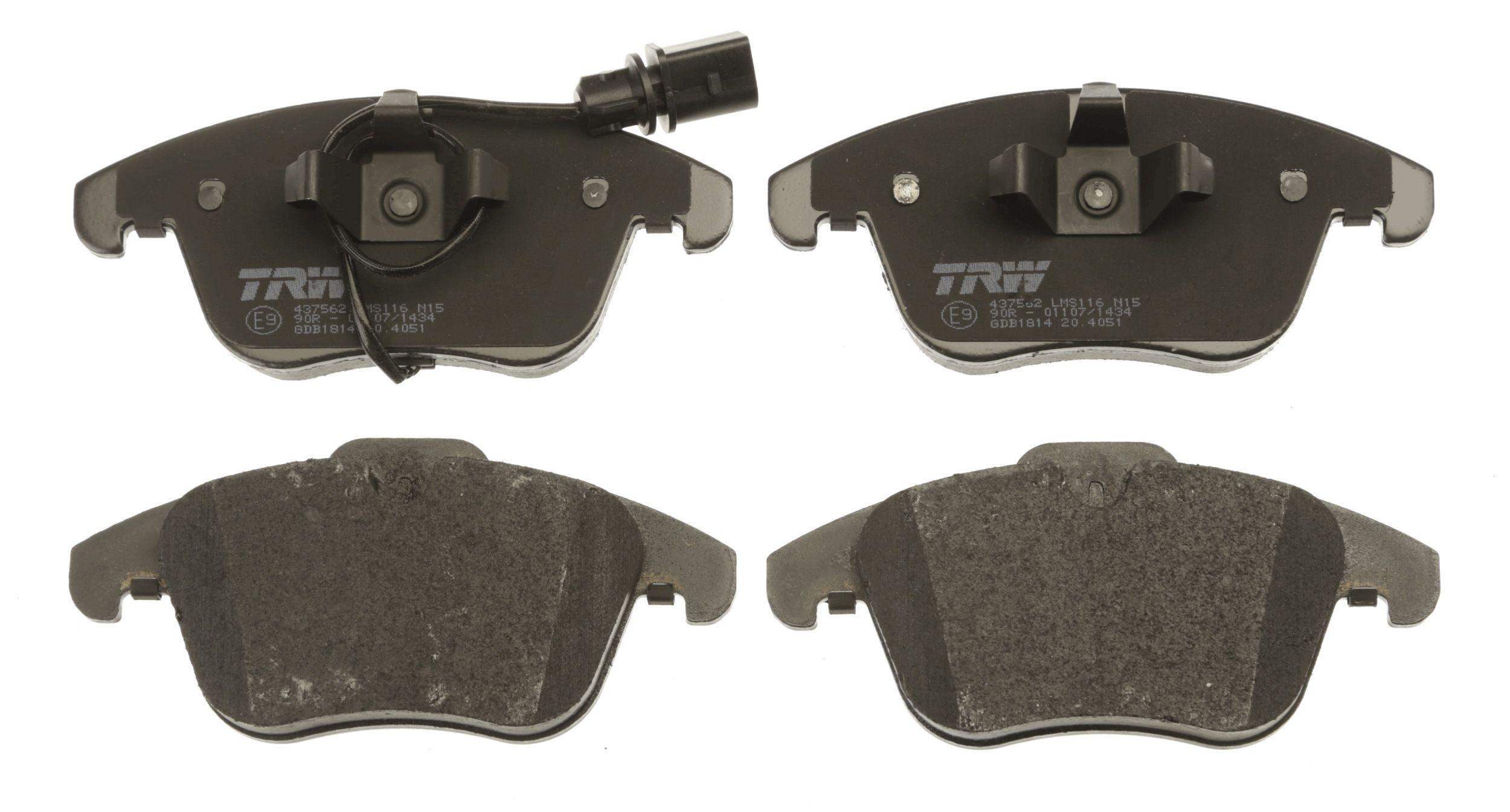GDB1814 Bremssteine TRW in Original Qualität
