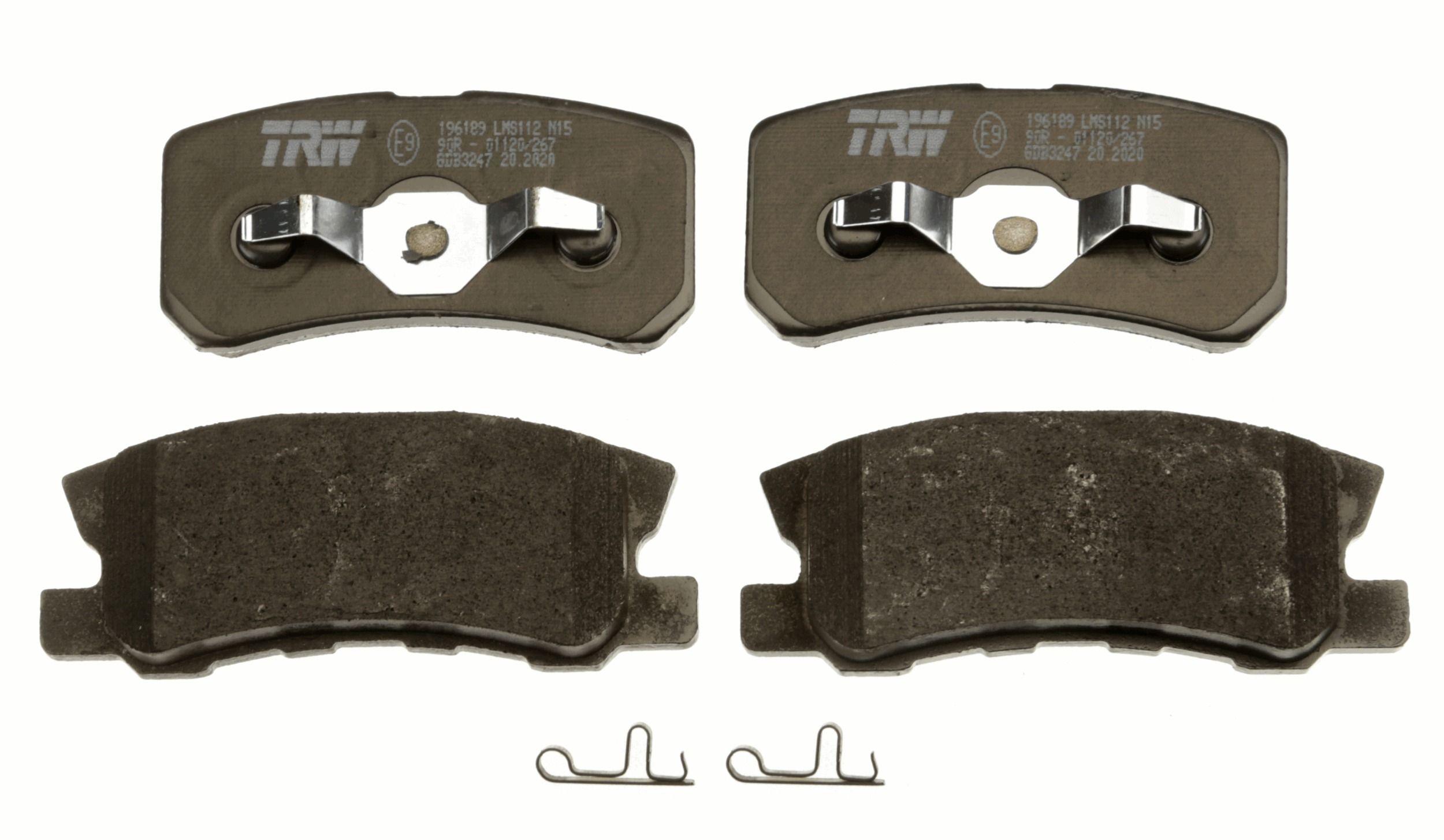 GDB3247 Bremsbelagsatz, Scheibenbremse TRW Test
