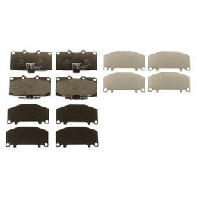 GDB3307 Bremsbelagsatz, Scheibenbremse TRW GDB3307 - Große Auswahl - stark reduziert