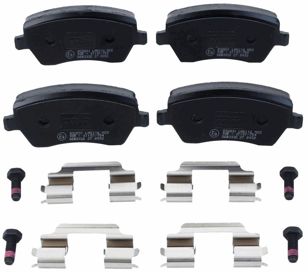 GDB3332 Bremssteine TRW in Original Qualität