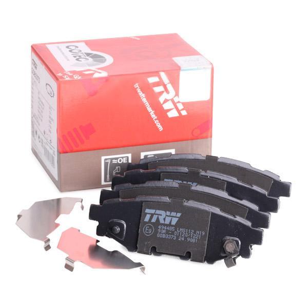 Scheibenbremse TRW GDB3378 Bremsbelagsatz