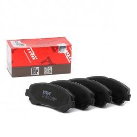 24632 TRW COTEC nicht für Verschleißwarnanzeiger vorbereitet Höhe: 58,7mm, Dicke/Stärke: 17,0mm Bremsbelagsatz, Scheibenbremse GDB3467 günstig kaufen