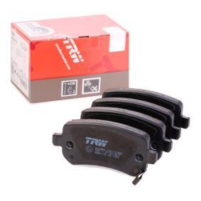 24824 TRW COTEC mit akustischer Verschleißwarnung Höhe: 52,8mm, Dicke/Stärke: 16,8mm Bremsbelagsatz, Scheibenbremse GDB4176 günstig kaufen