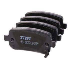 GDB4176 Bremsbeläge TRW 24823 - Große Auswahl - stark reduziert