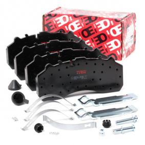 Buy TRW Brake Pad Set, disc brake GDB5067 for IVECO at a moderate price