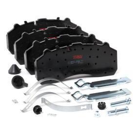 GDB5067 Bremsbelagsatz, Scheibenbremse von TRW online einkaufen