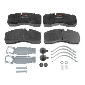 Buy TRW Brake Pad Set, disc brake GDB5072 for MAN at a moderate price