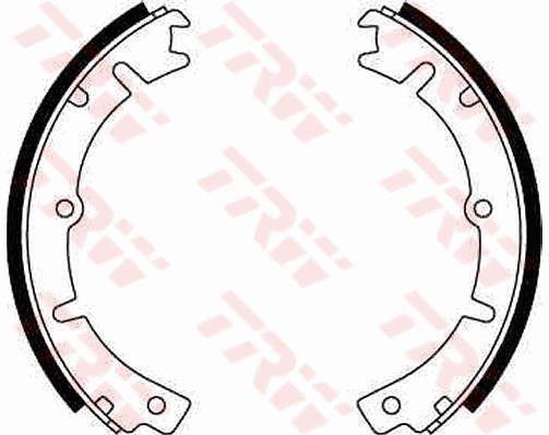 OE Original Bremsbacken für Trommelbremse GS8011 TRW