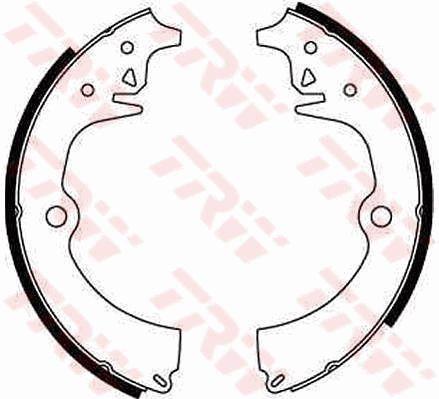 Original PEUGEOT Bremsbacken für Trommelbremse GS8062