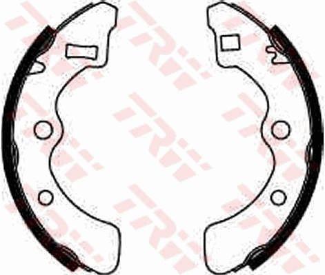 TRW: Original Bremsklötze für Trommelbremse GS8085 (Breite: 26mm)