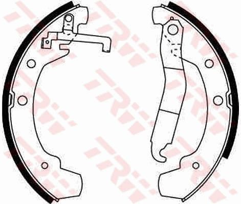 Original VW Bremsklötze für Trommelbremse GS8150