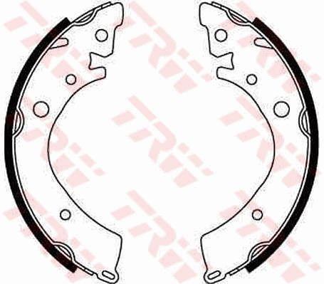 Original HONDA Bremsbacken für Trommelbremse GS8215
